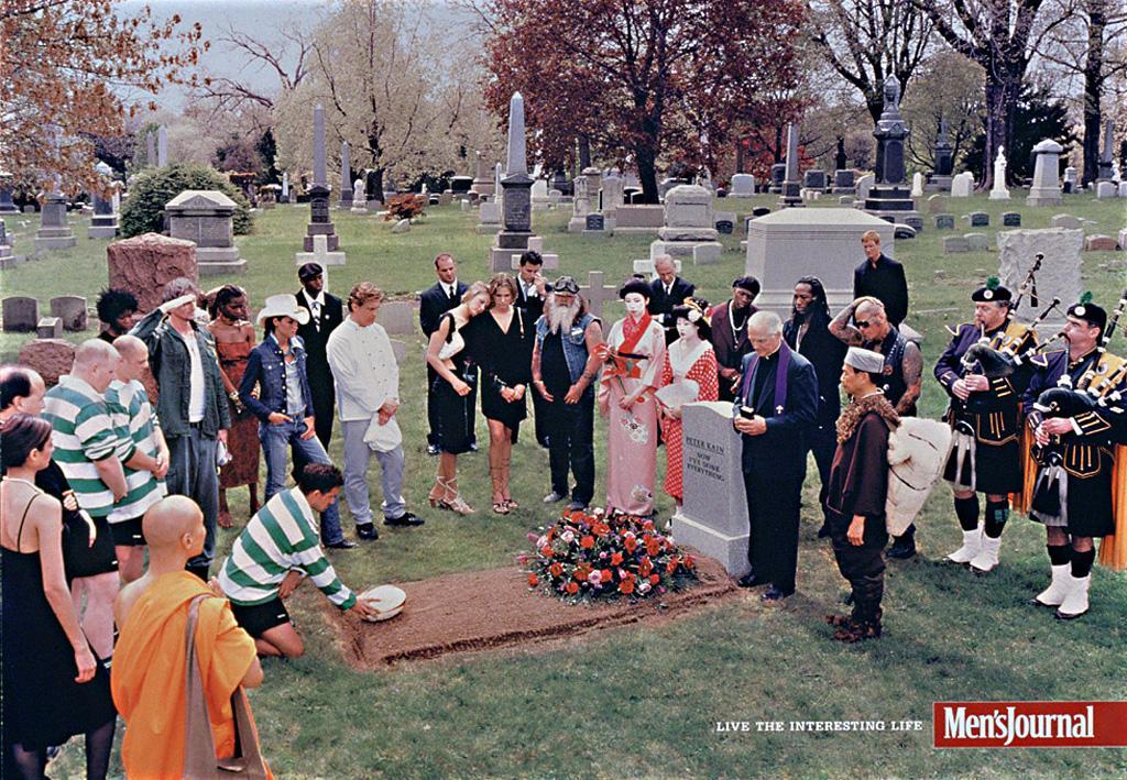 Men's Journal funeral