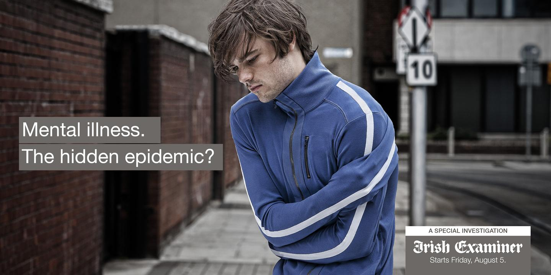 Irish Examiner Outdoor Ad -  Mental Health