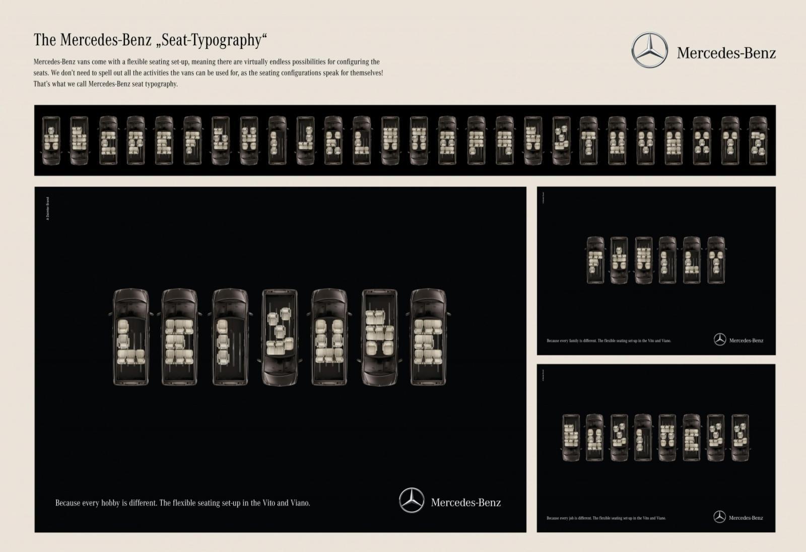 Mercedes Print Ad -  Leisure