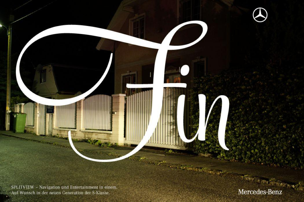Mercedes Print Ad -  Fin