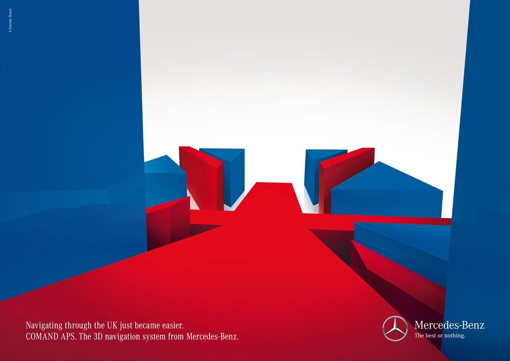 Mercedes Print Ad -  UK