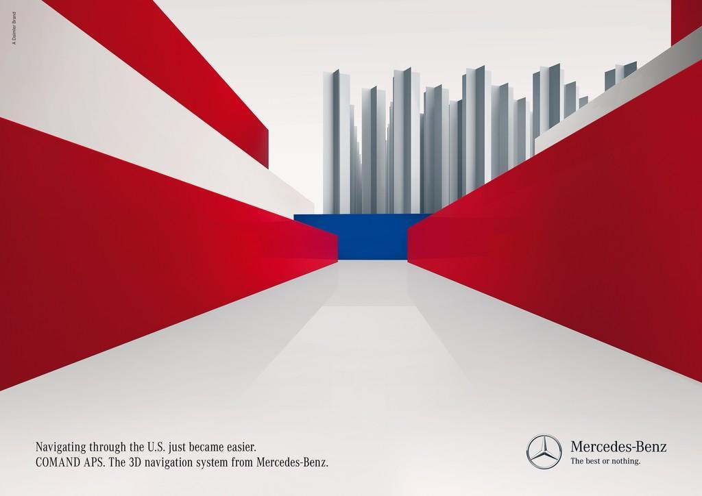 Mercedes Print Ad -  USA