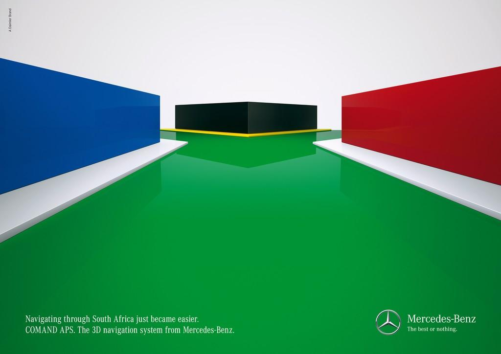 Mercedes Print Ad -  South Africa
