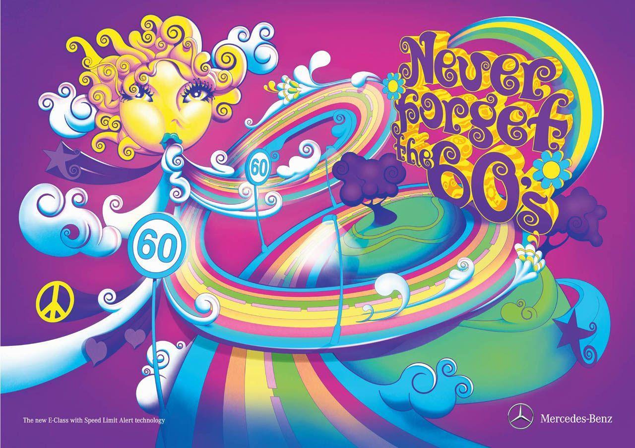 Mercedes Print Ad -  60s