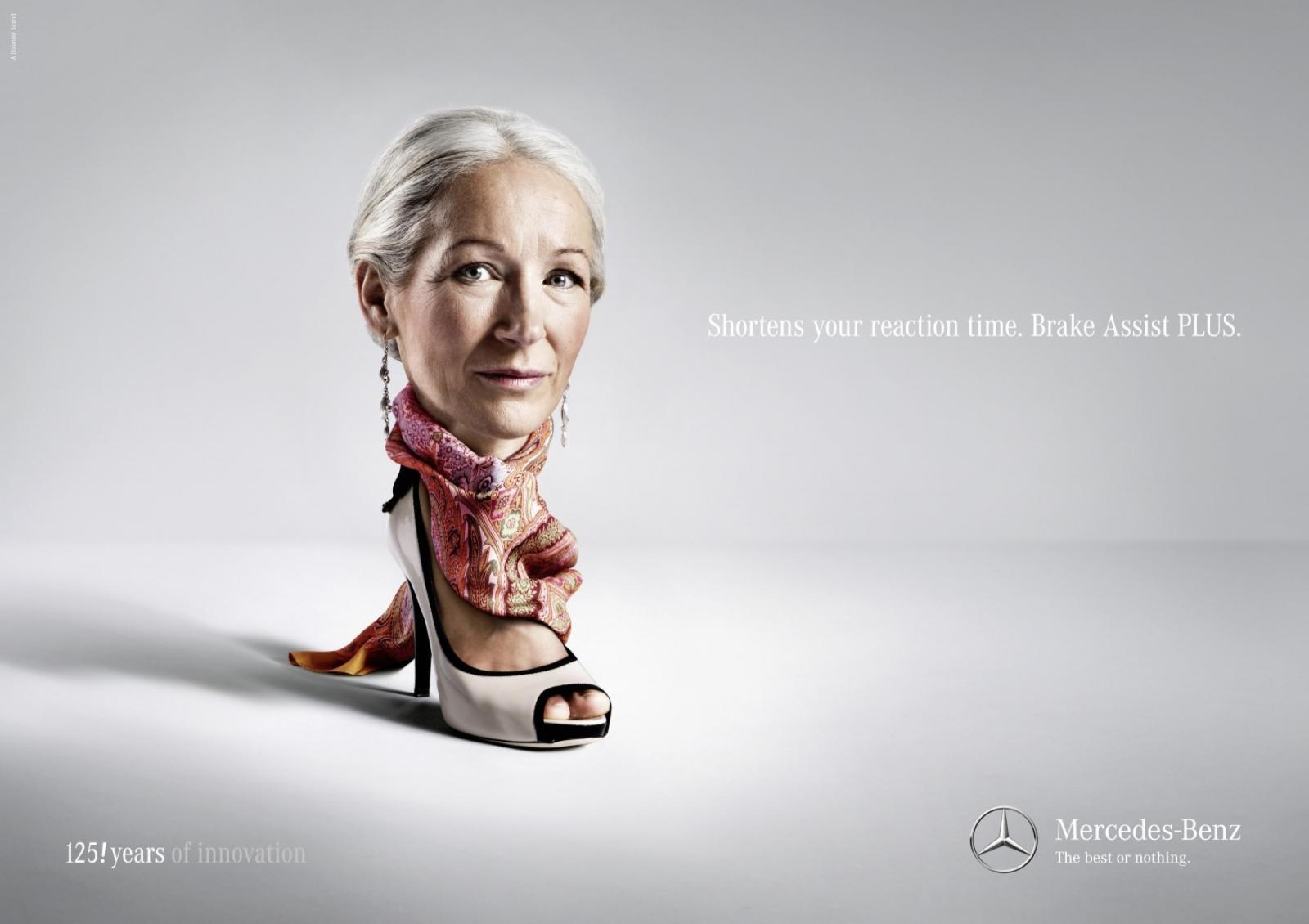 Mercedes Print Ad -  Greta