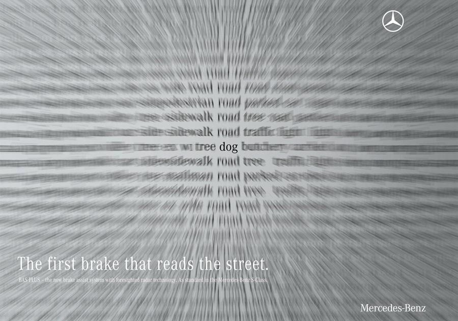 Mercedes Outdoor Ad -  Dog