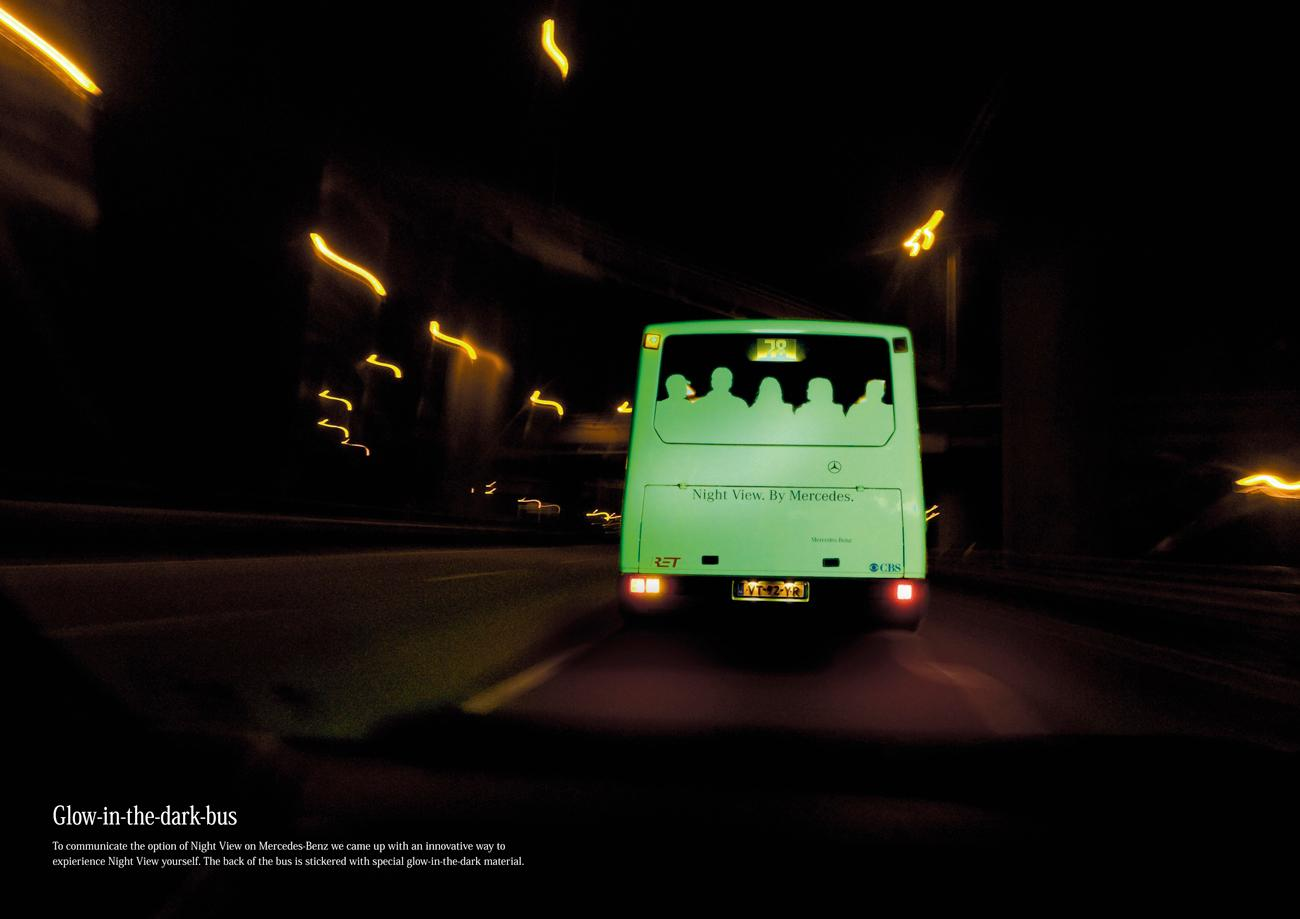 Mercedes Ambient Ad -  Glow