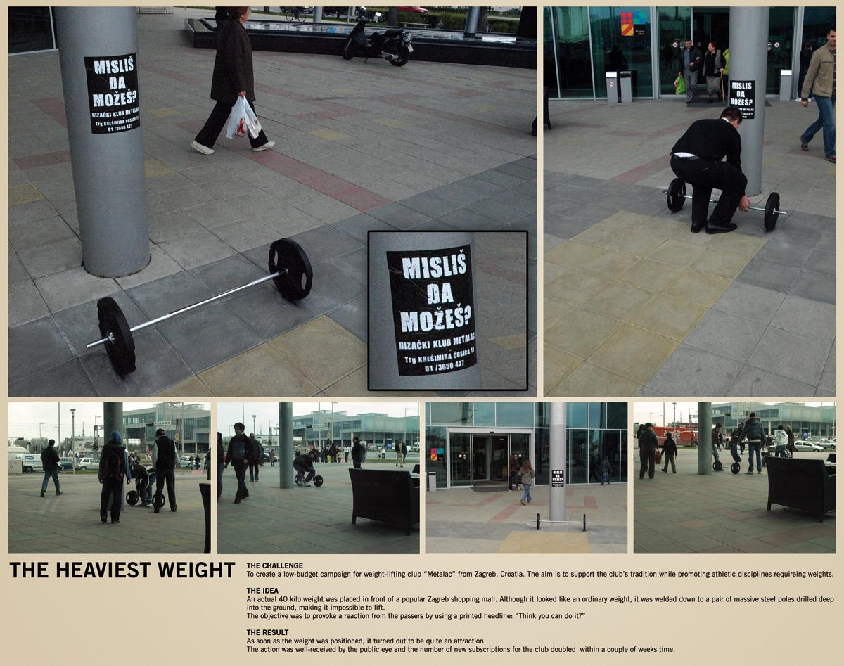 Metalac Ambient Ad -  Think you can do it?