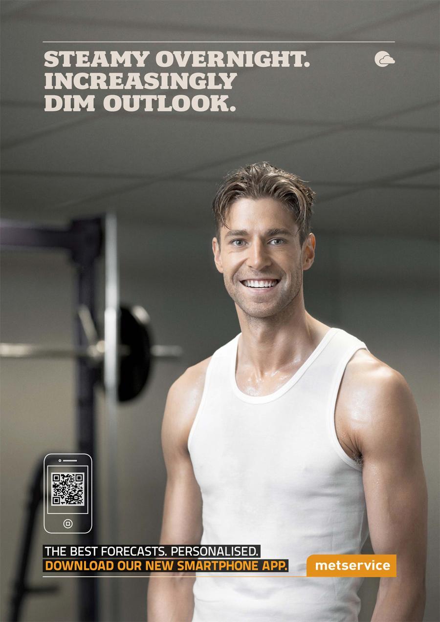 Metservice Print Ad -  Dim Outlook