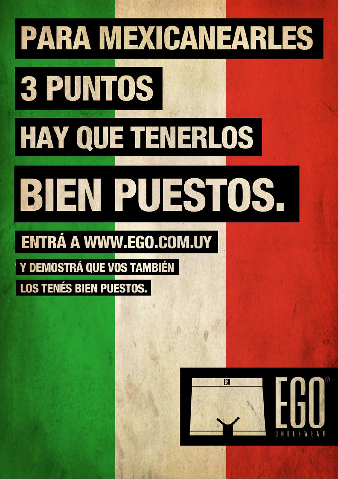 Ego Print Ad -  You need to have balls, Mexico