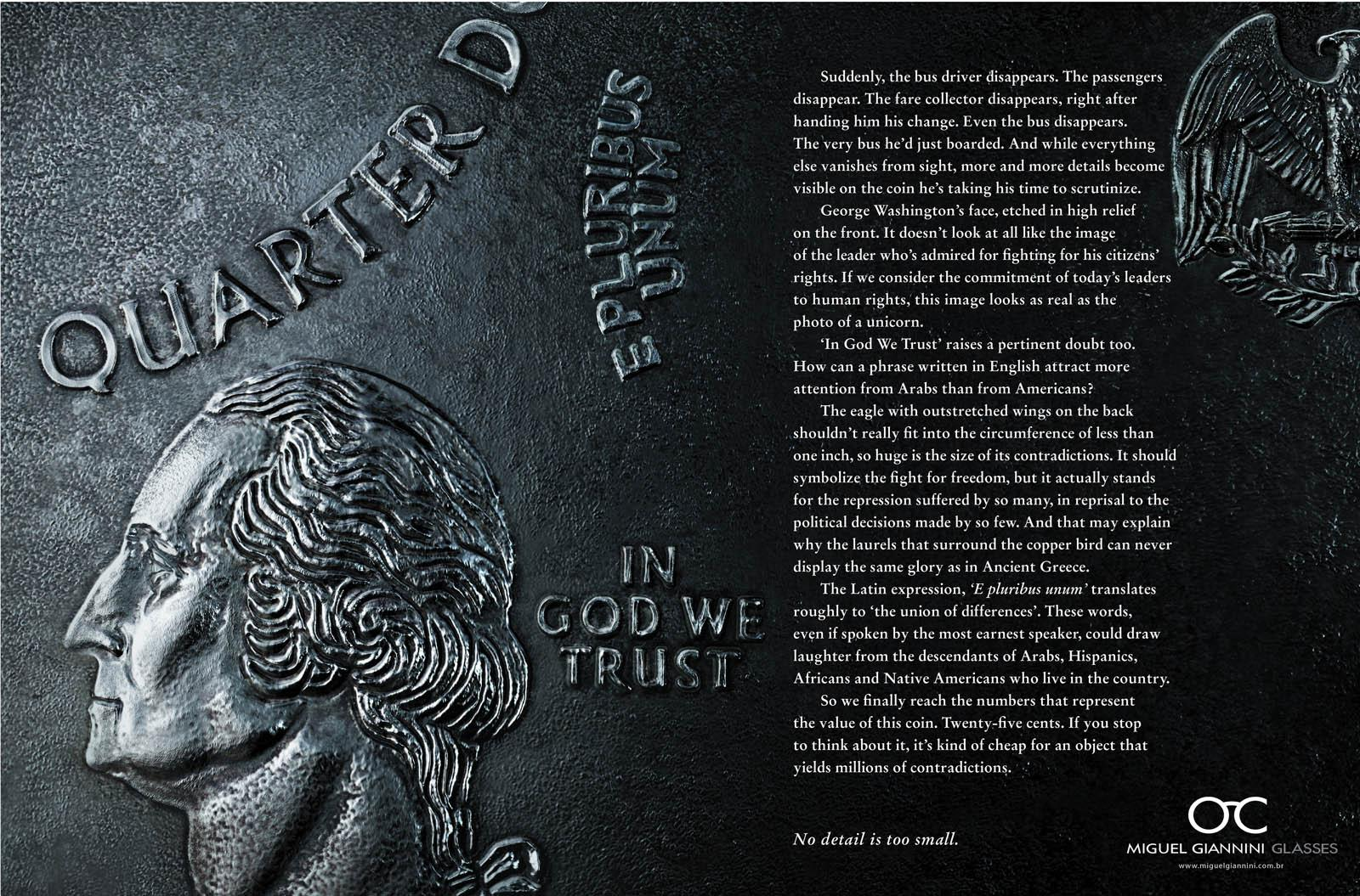Miguel Gianinni Print Ad -  Details, Quarter