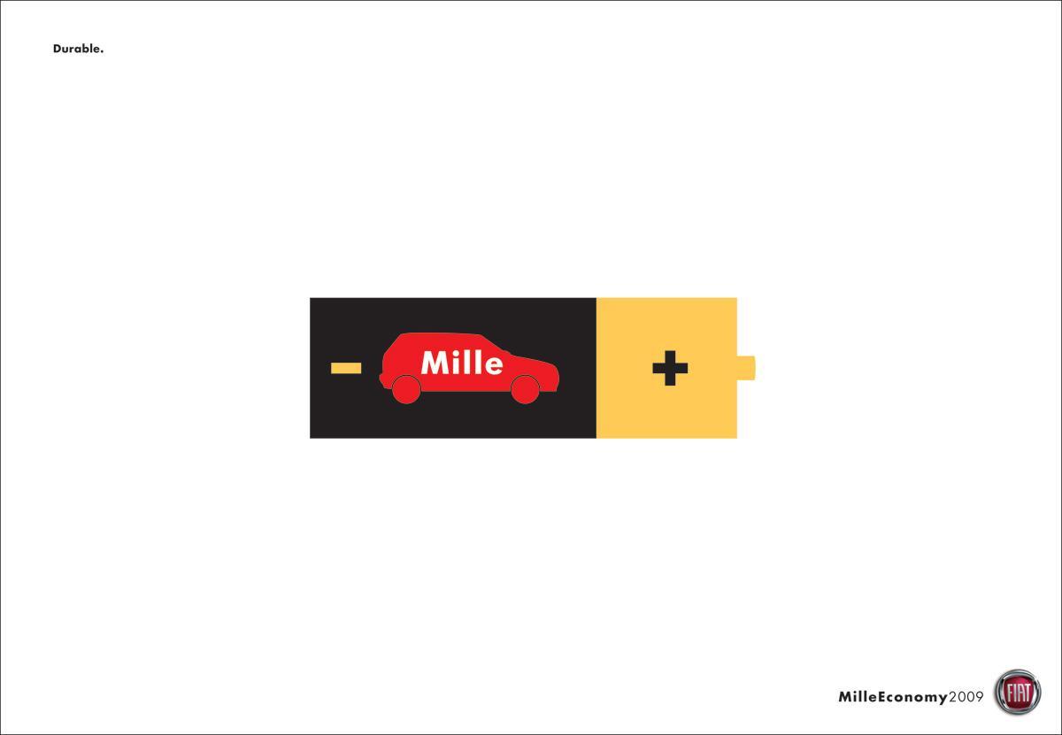 Fiat Print Ad -  Battery