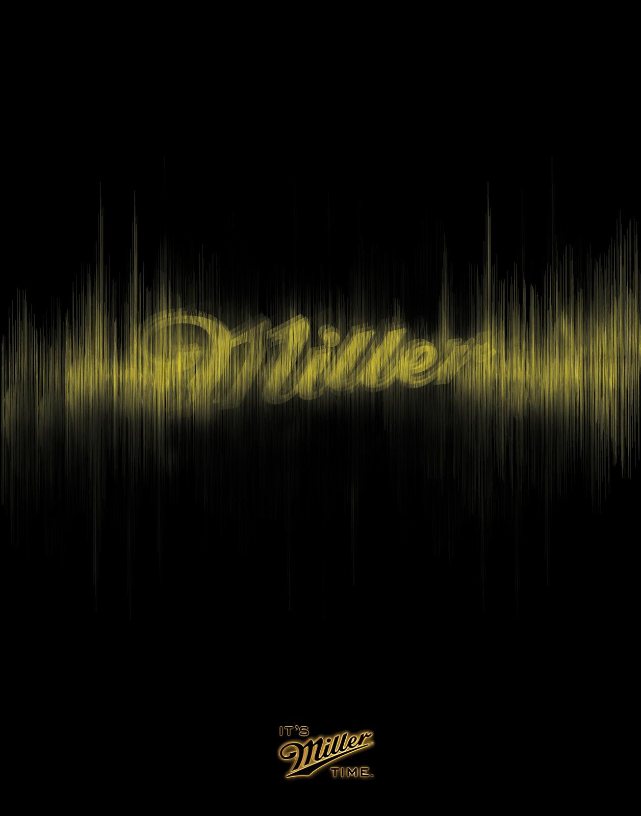 Miller Print Ad -  Soundwave