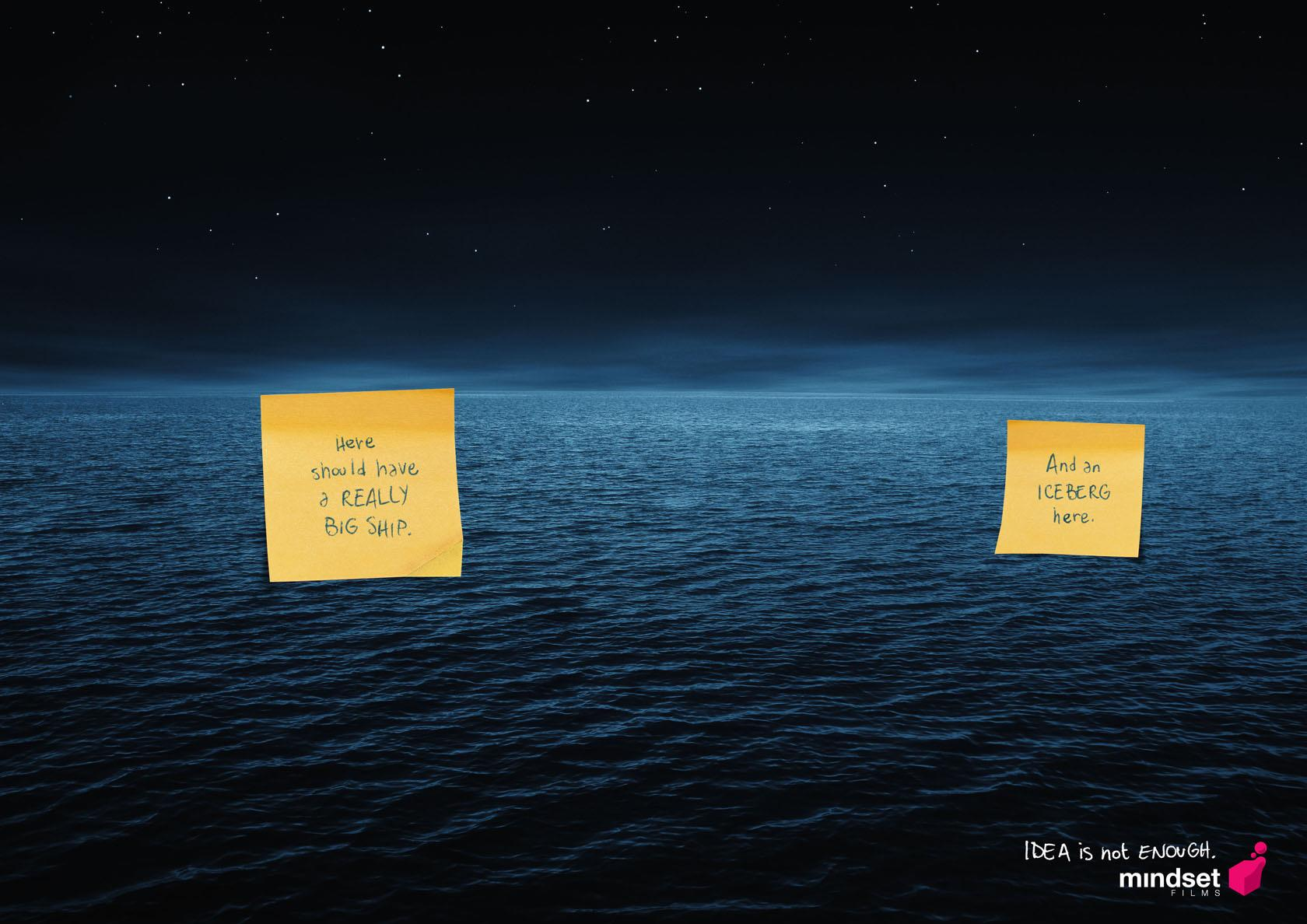Mindset Films Print Ad -  Titanic