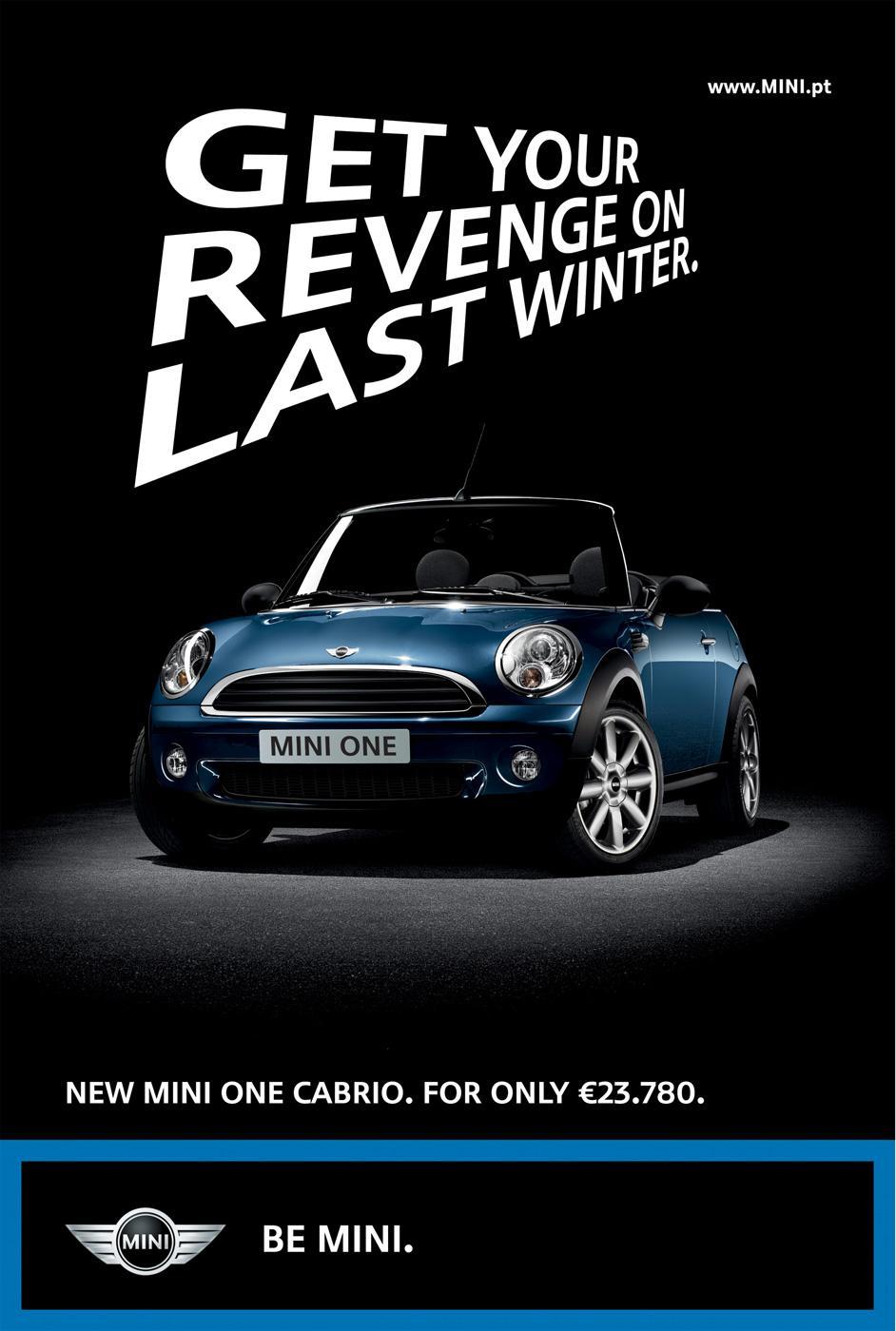 Mini Print Ad -  Cabrio revenge