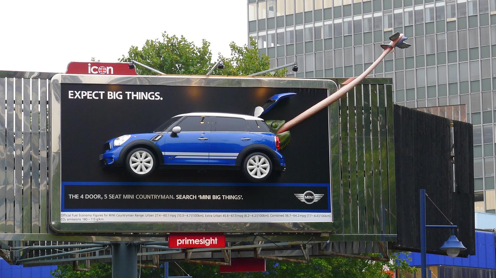Mini Outdoor Ad -  Tongue