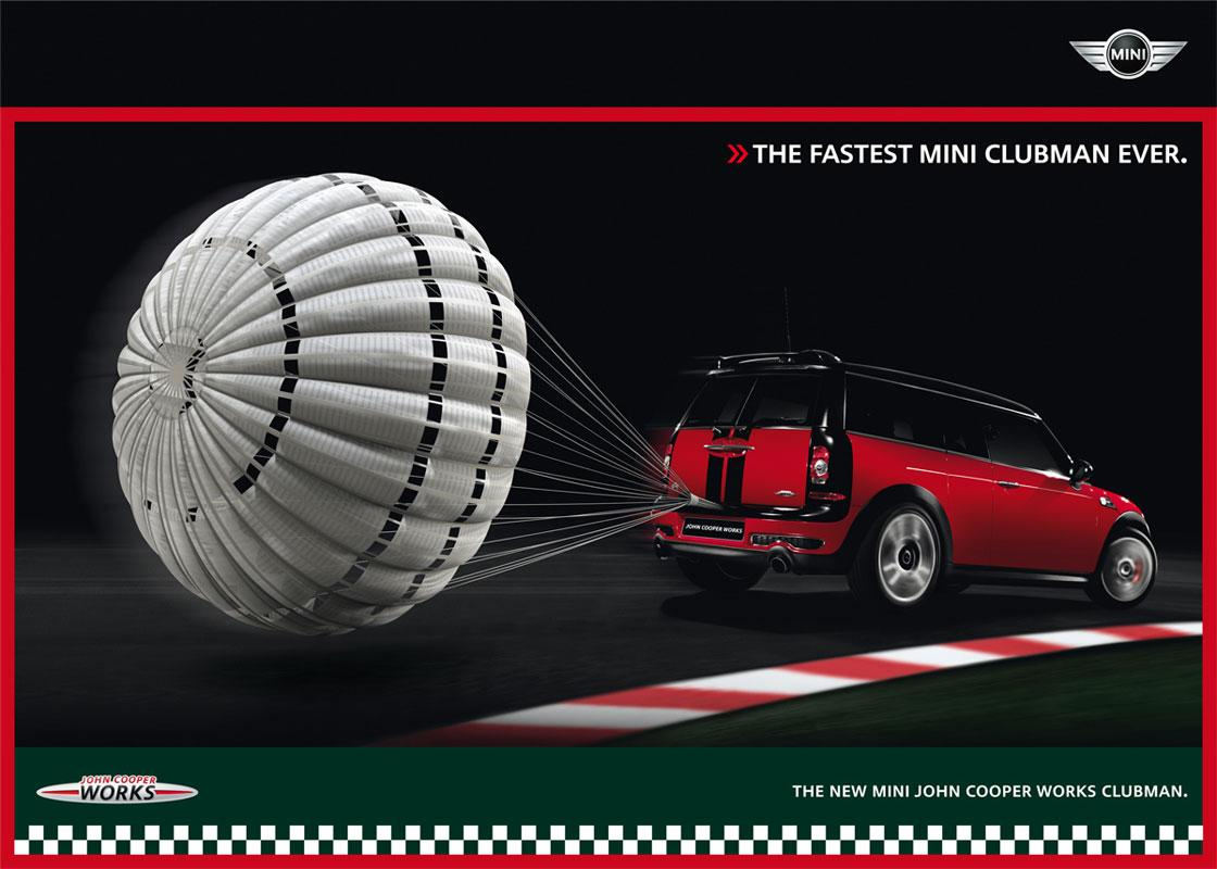Mini Outdoor Ad -  Parachute, 1