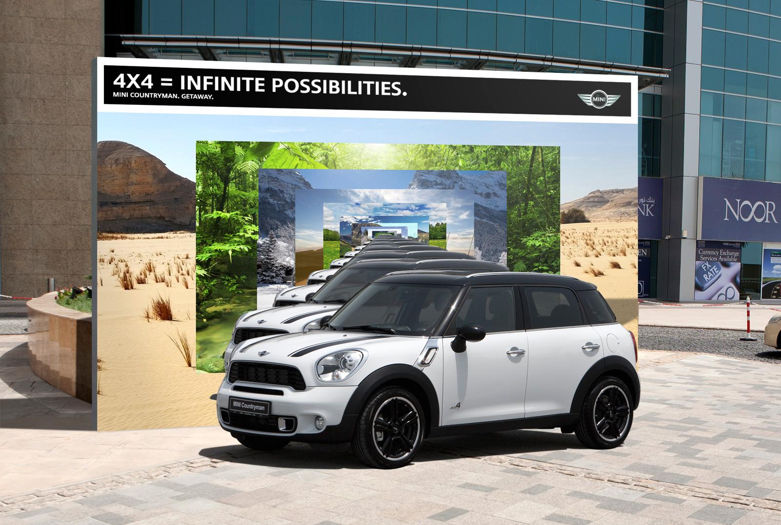 Mini Outdoor Ad -  Infinite possibilities