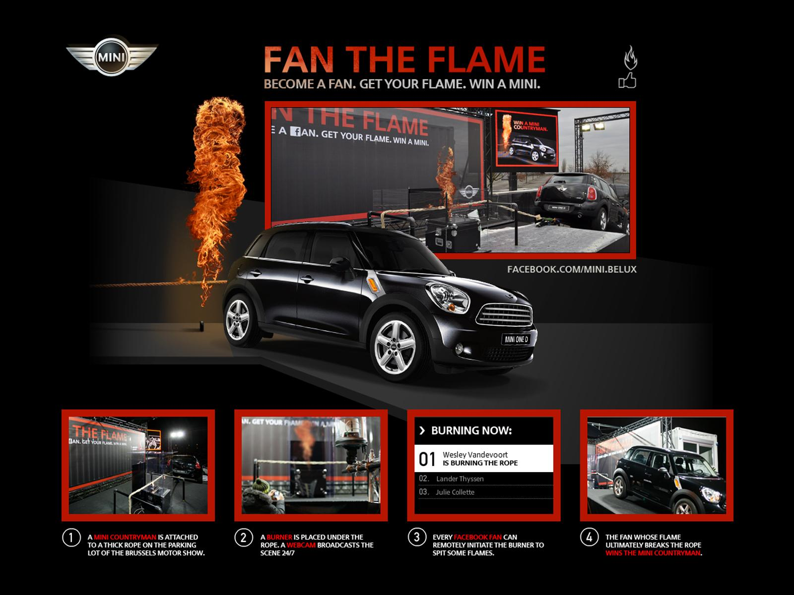 Mini Ambient Ad -  Fan the Flame