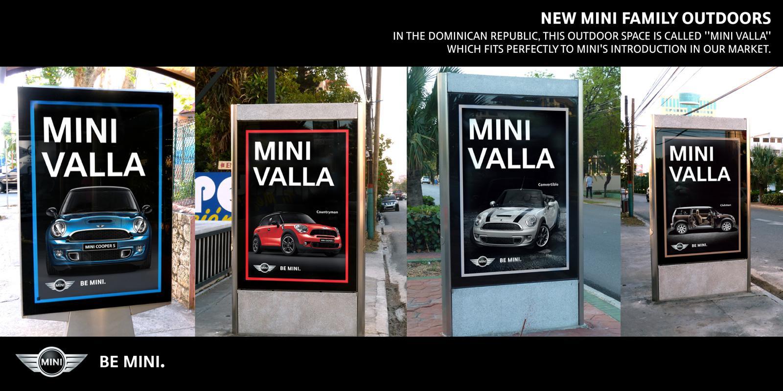 Mini Outdoor Ad -  Mini Valla