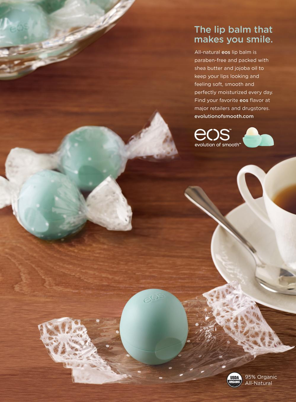 EOS Lip Balm Print Ad -  Mint Candy