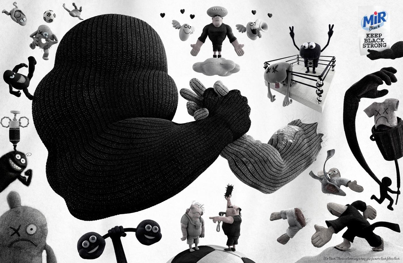 MIR Black Print Ad -  Keep black strong, 3