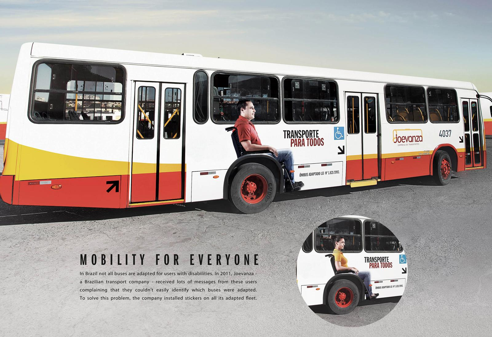Joevanza Outdoor Ad -  Mobility for Everyone