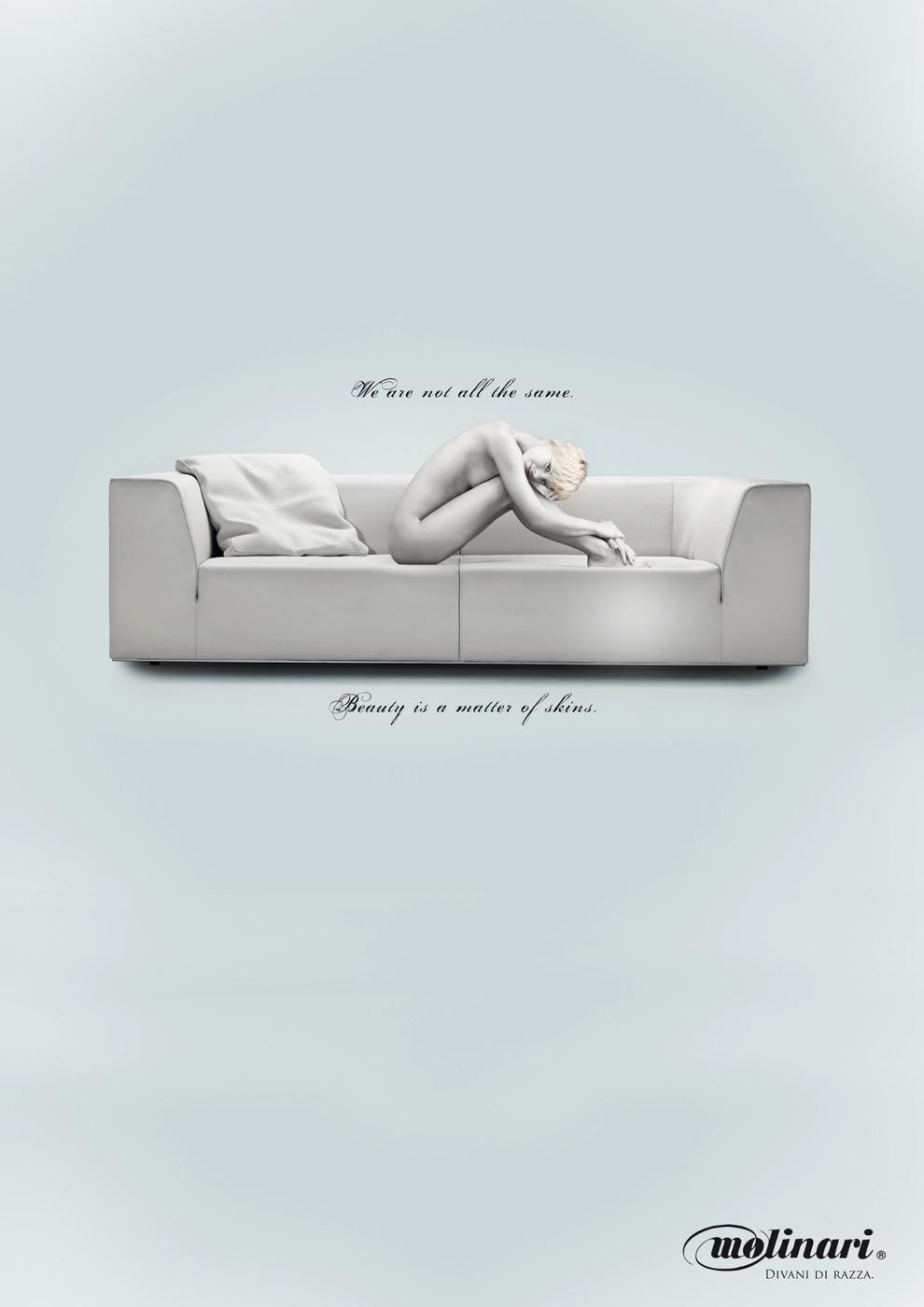 Molinari Print Ad -  Beauty