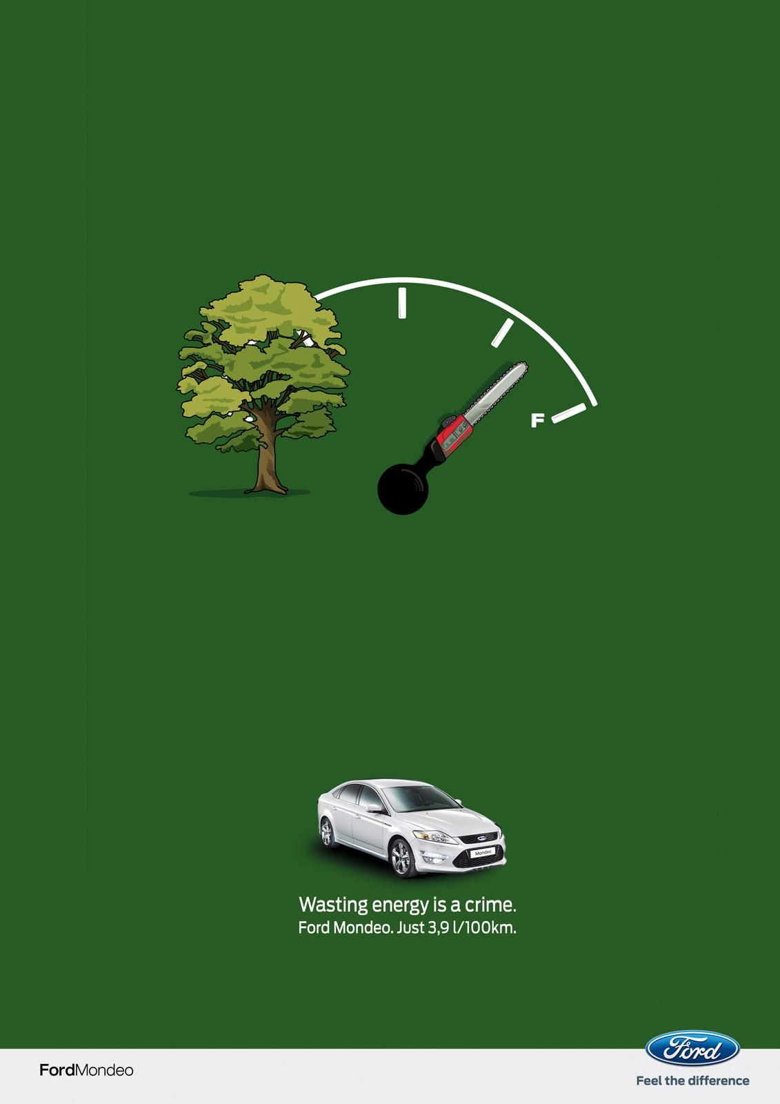 Ford Print Ad -  Tree