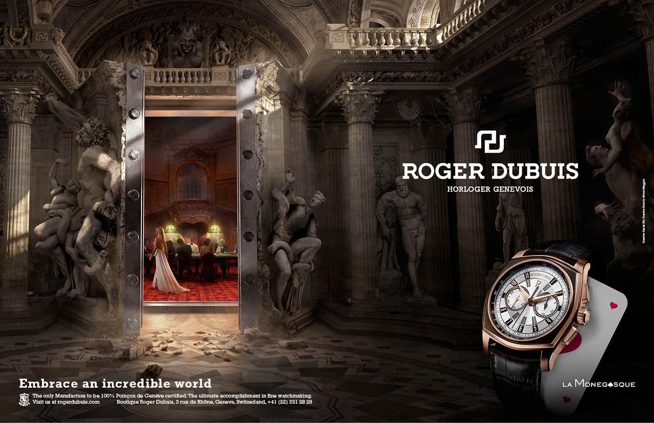 Roger Dubuis Print Ad -  Embrace an incredible world, Monegasque