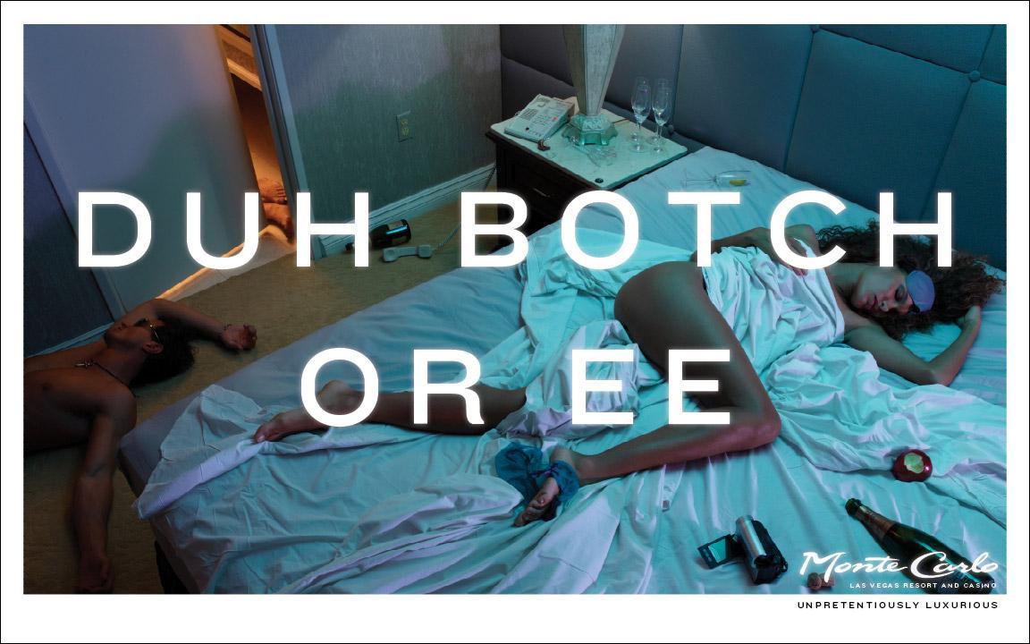 Monte Carlo Resort & Casino Print Ad -  Unpretentiously luxurious, 2