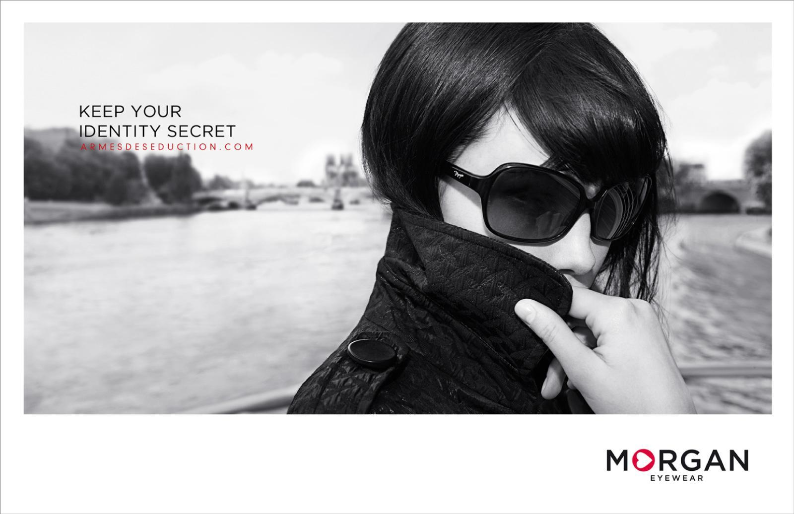 Morgan Print Ad -  Coat