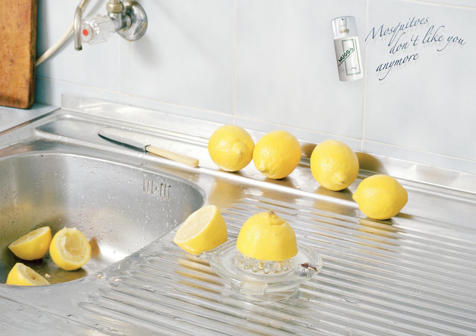 Mugga Print Ad -  Lemon