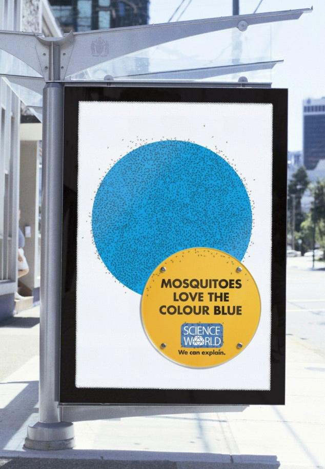 Science World Outdoor Ad -  Mosquitos