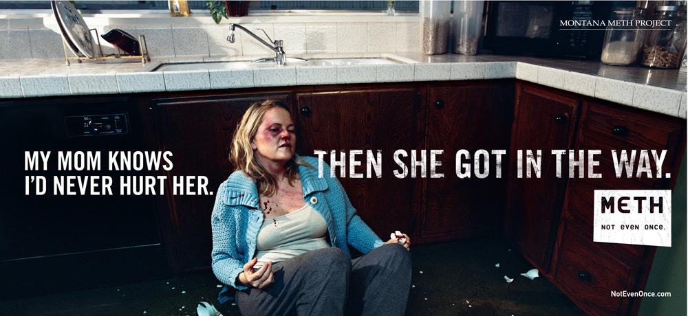Montana Meth Project Print Ad -  Mother