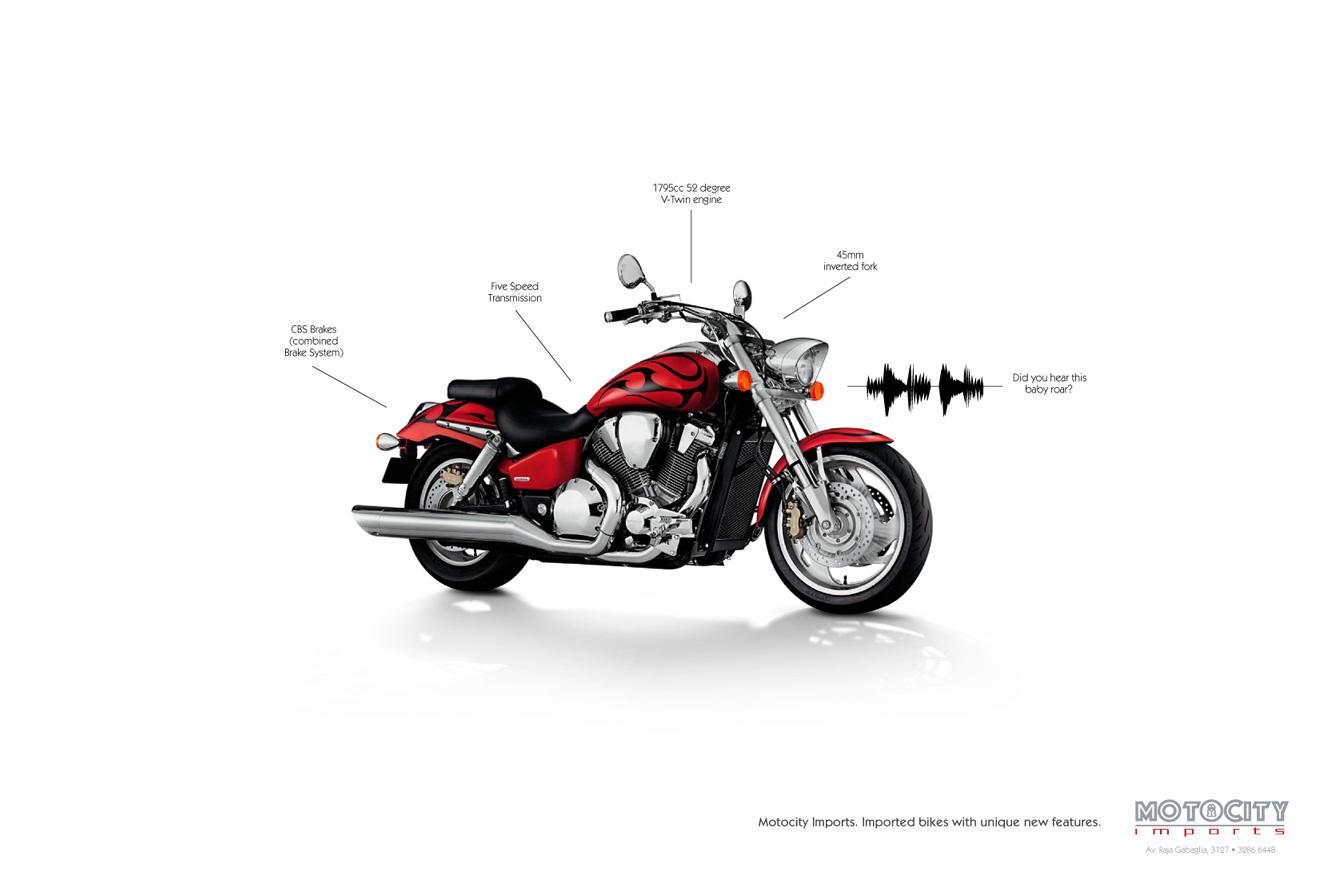 Motocity Imports Print Ad -  Baby