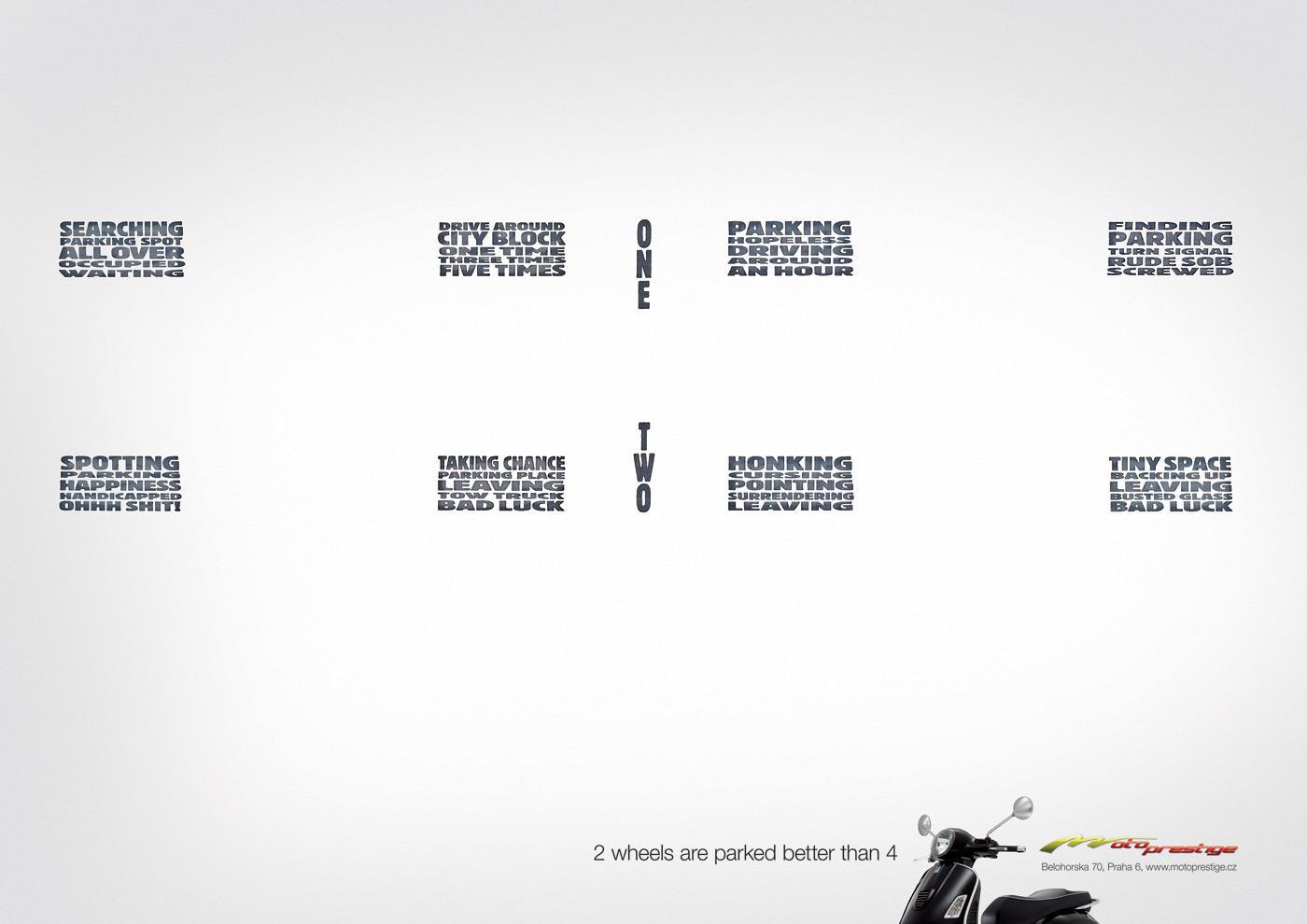Motoprestige Print Ad -  Parking