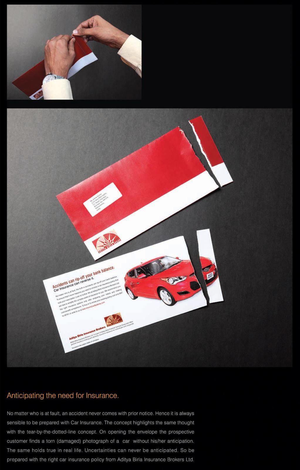 Birla Motor Insurance Direct Ad -  Envelope