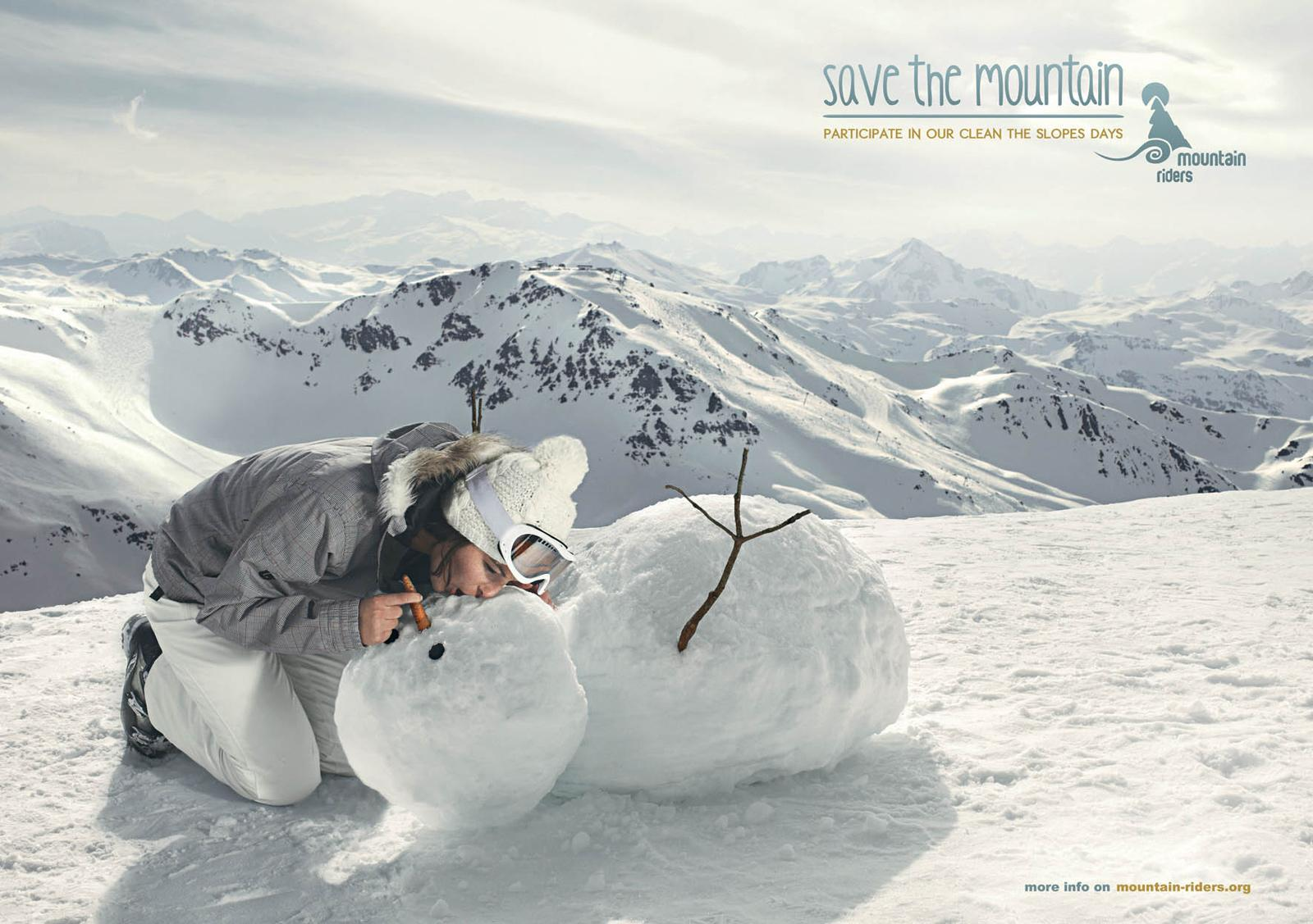 Mountain Riders Print Ad -  Mouth to mouth