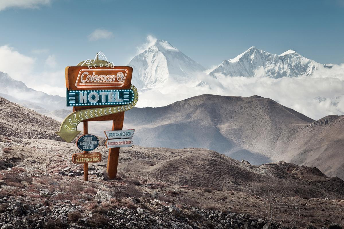 The Coleman Company Print Ad -  Mountain