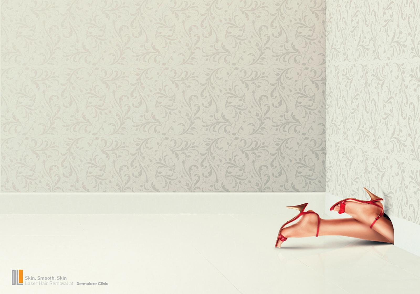 Dermalase Clinic Print Ad -  Mouse Hole