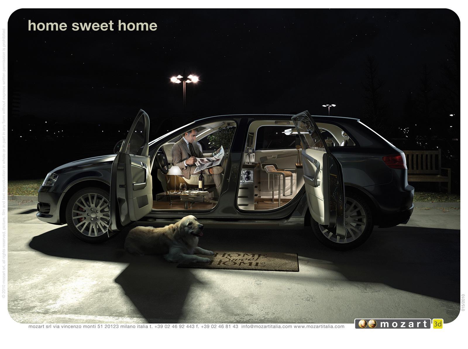 Mozart Print Ad -  Home