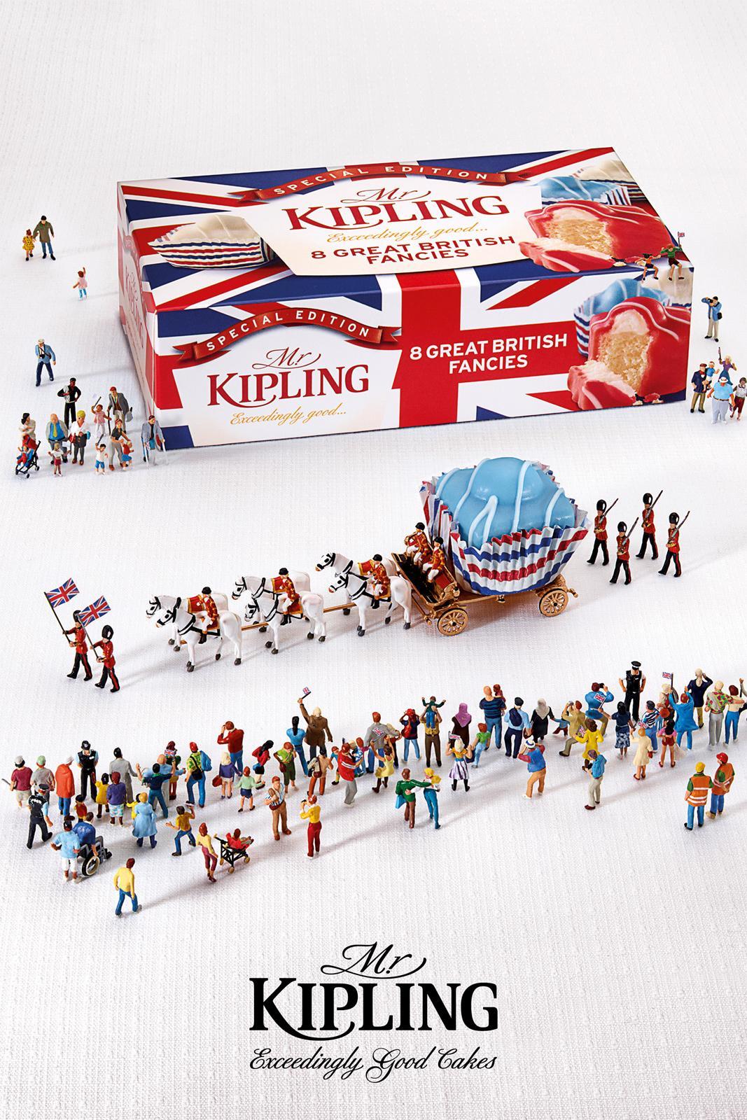 Mr Kipling Print Ad -  Jubilee Celebrations, Parade