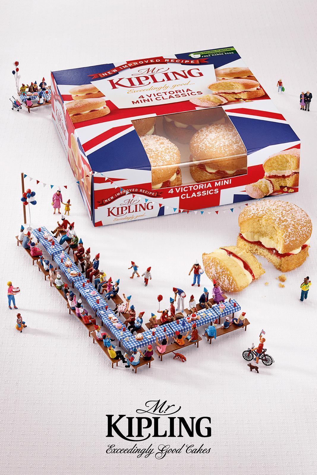 Mr Kipling Print Ad -  Jubilee Celebrations, Party