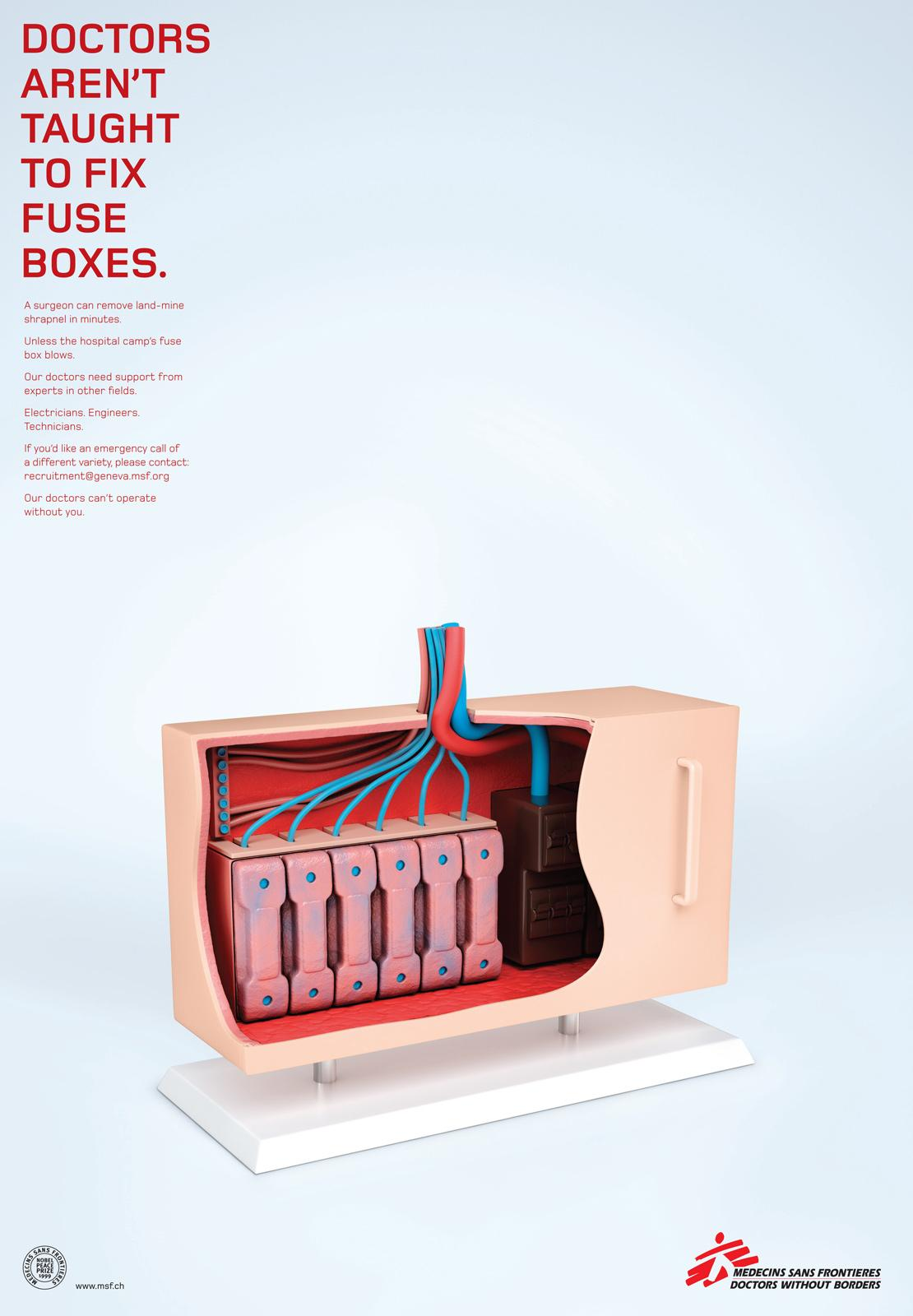 msf fuse box?itok= Sm4eZw2 medecins sans frontieres print advert by m&c saatchi fuse box fuse box australia at mifinder.co