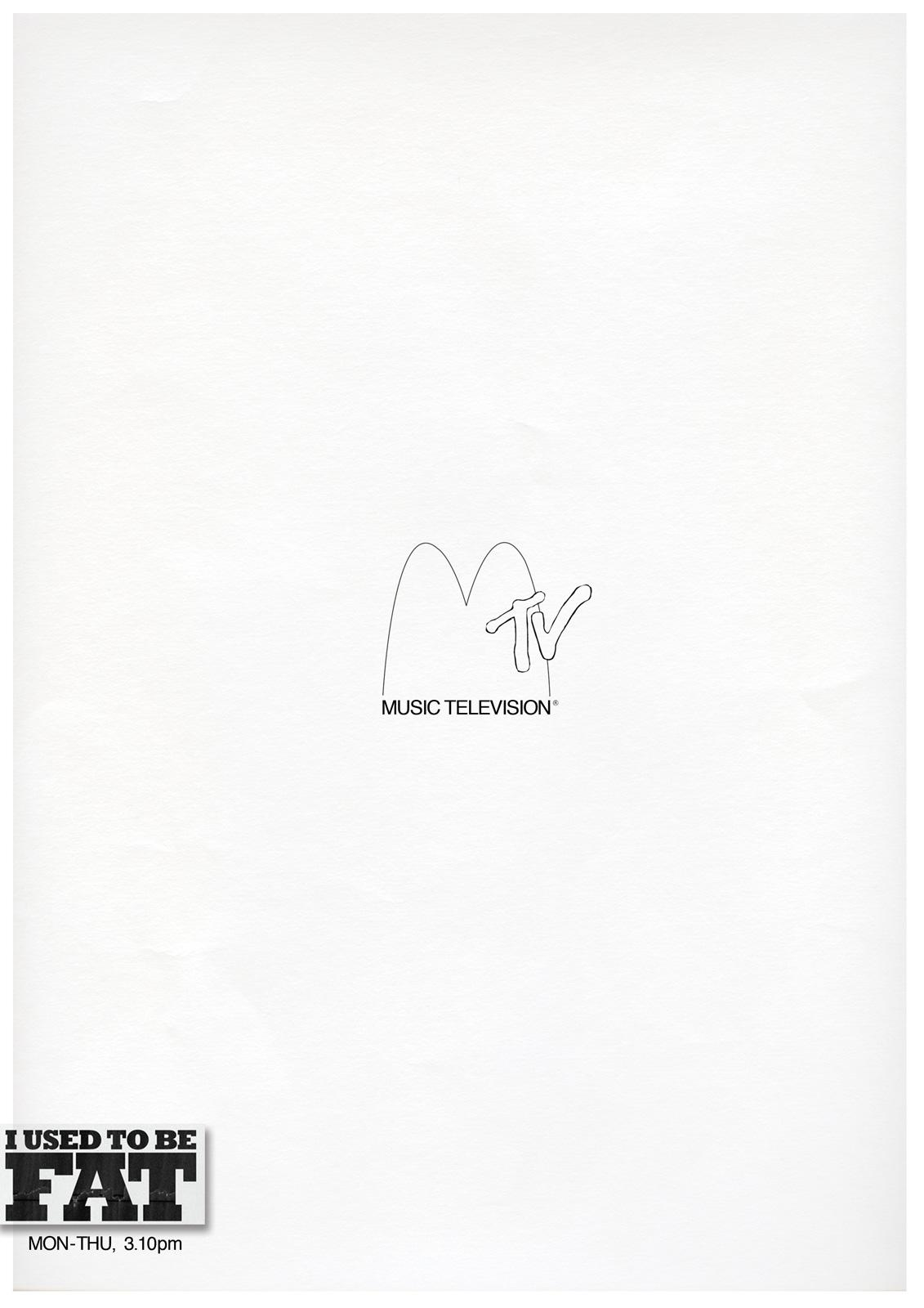 MTV Print Ad -  I used to be Mac
