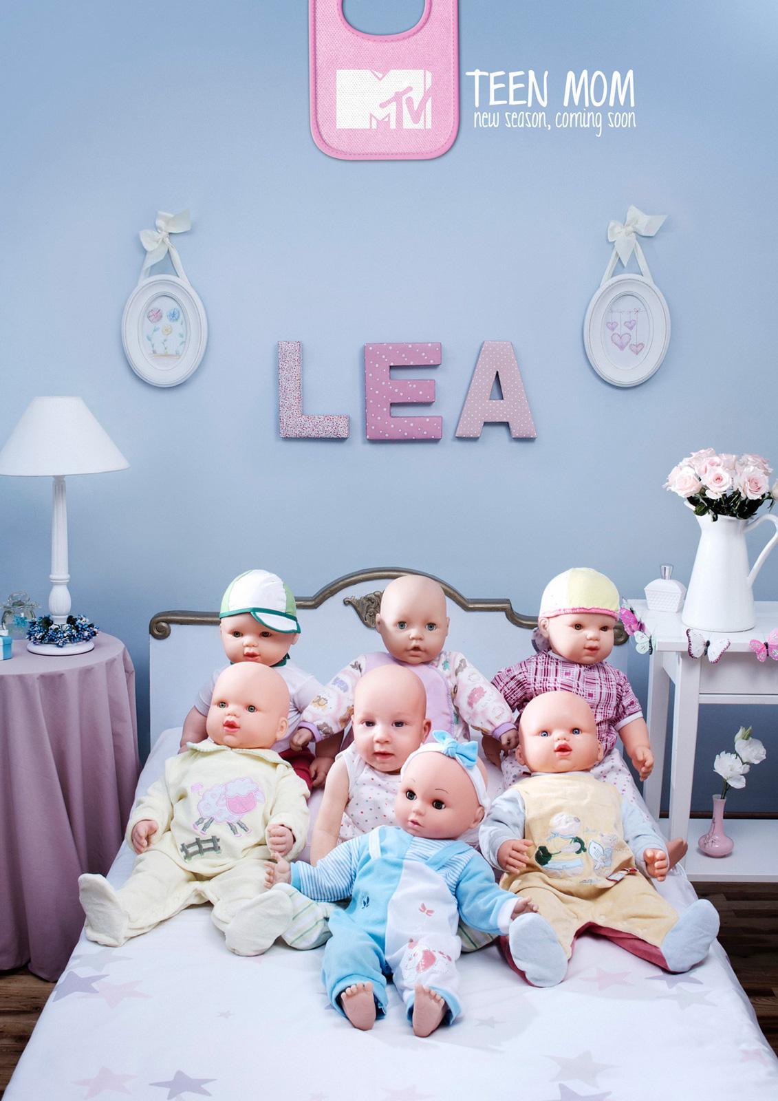 MTV Print Ad -  Babies