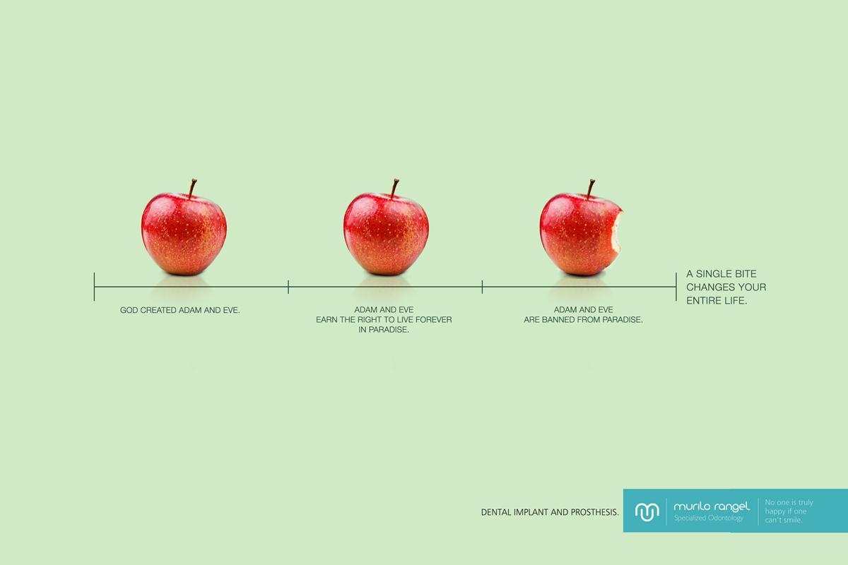 Murilo Rangel Print Ad -  Adam and Eve