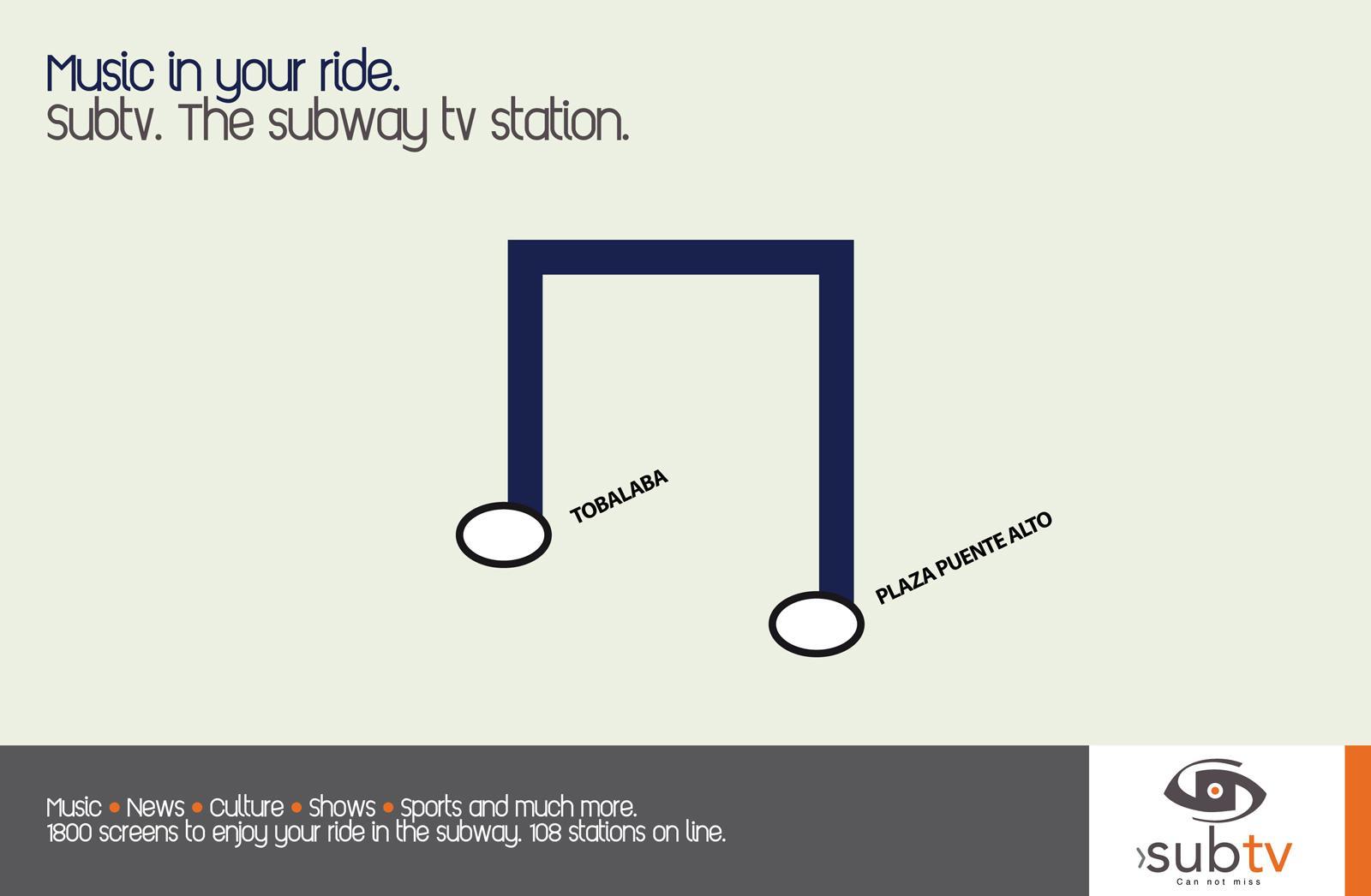 Subtv Print Ad -  Music