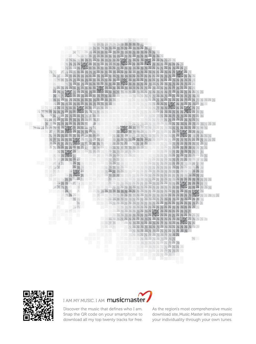 MusicMaster Print Ad -  Michela